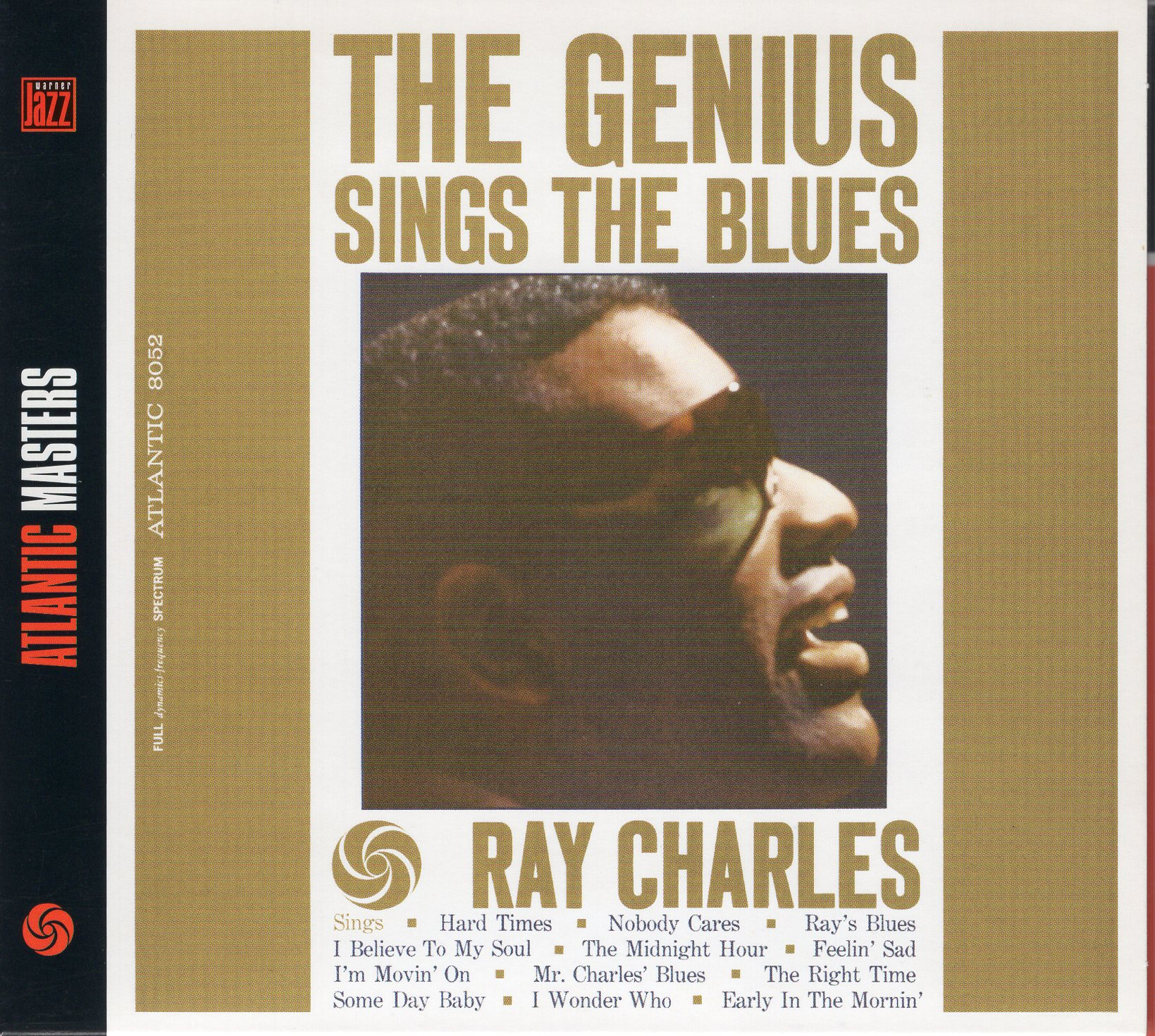 """The Genius sings The Blues"" Ray Charles"