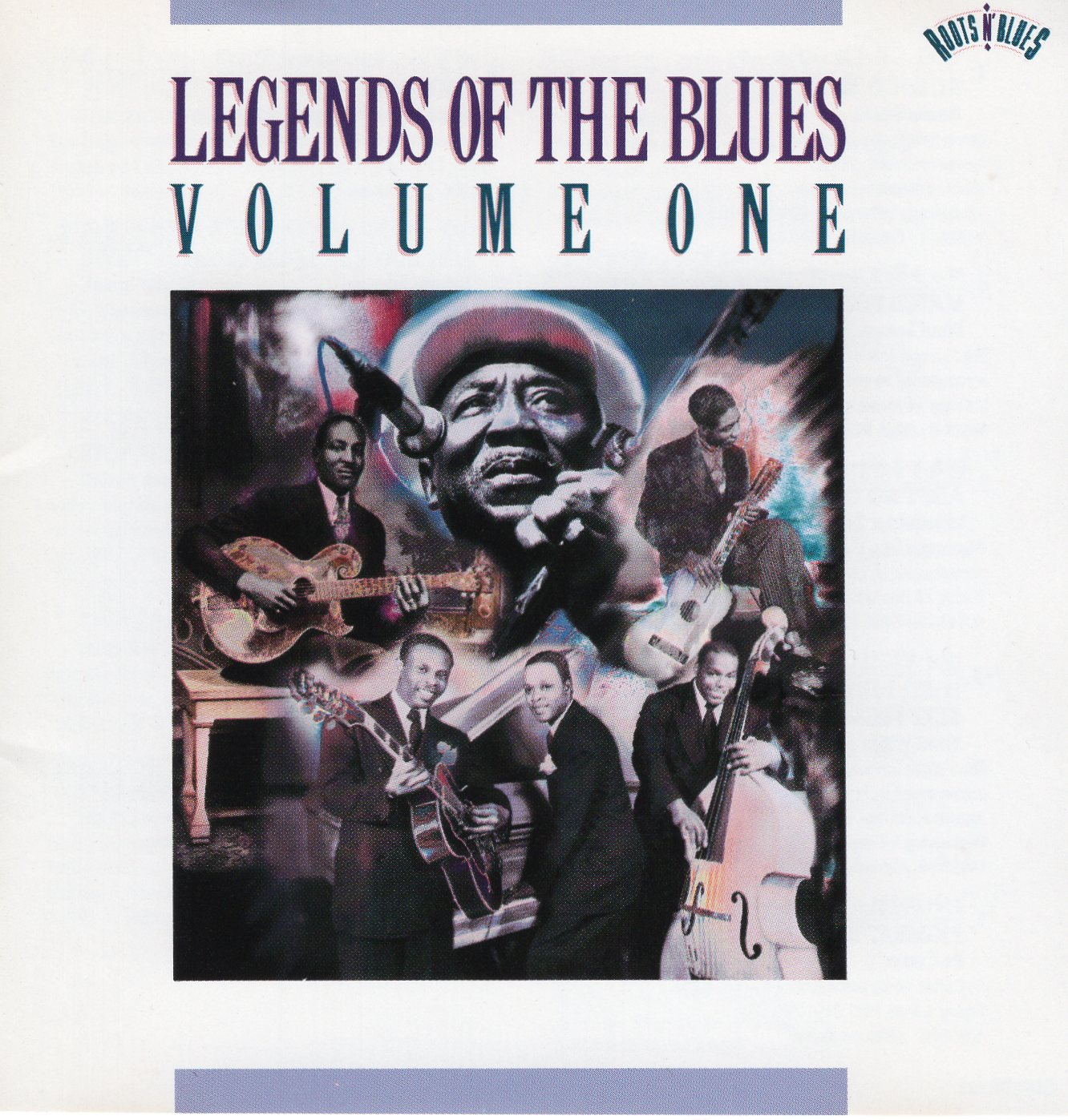 """Legend of The Blues Volume one"""