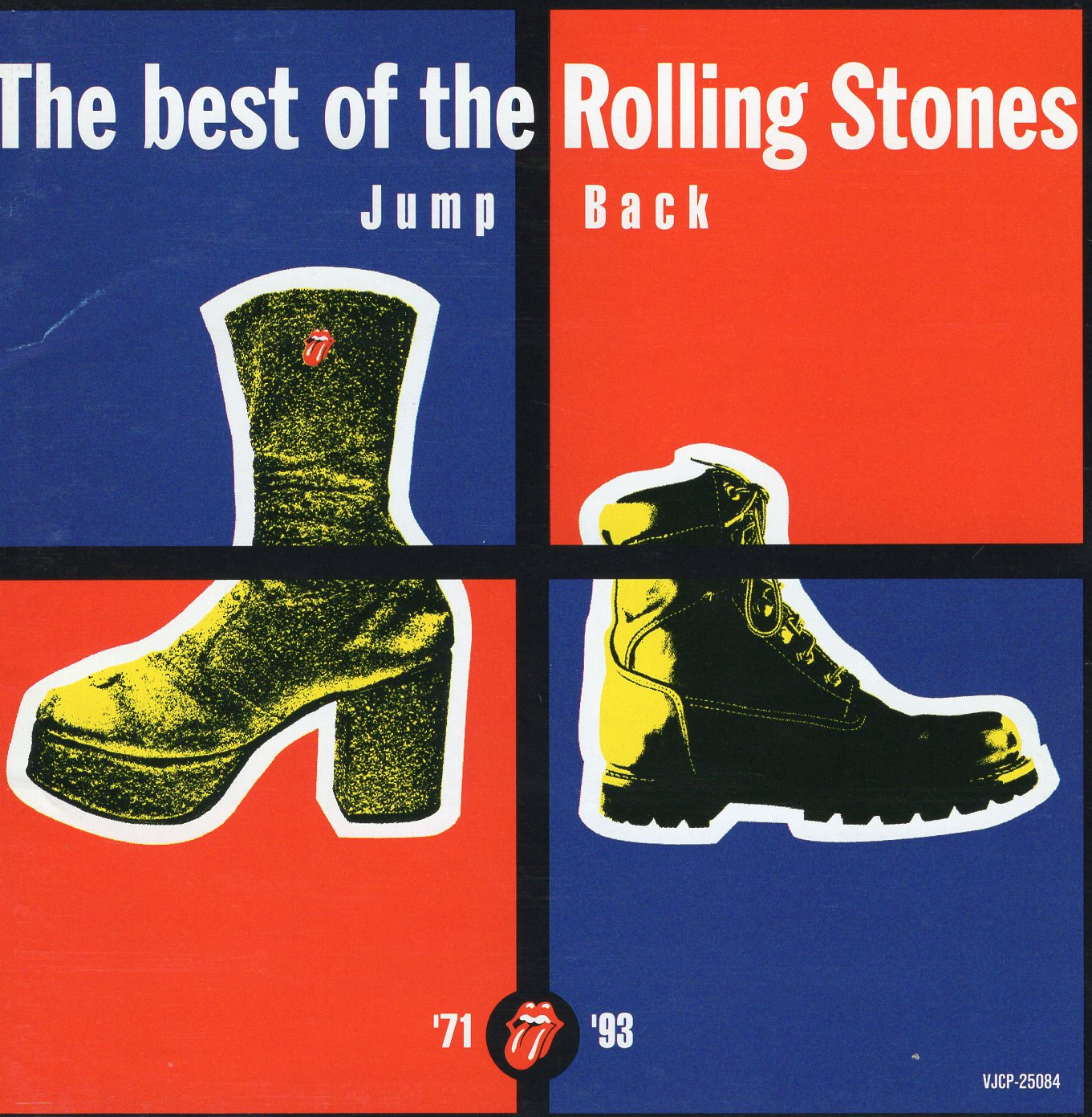 """The Best of The Rolling Stones Jump Back"" The Rolling Stones"