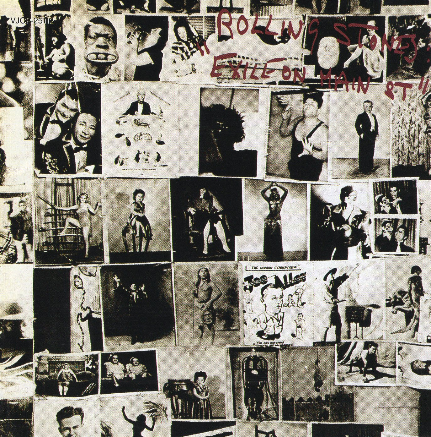 """Exile on Main St."" The Rolling Stones"