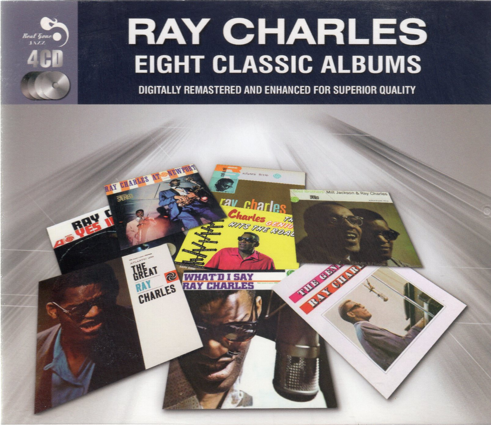 """Ray Charles Eight Classic Albums"" Ray Charles"